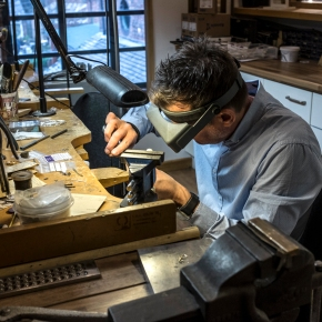 Behind the scenes at Allen Brown Jewellery, Swinfen