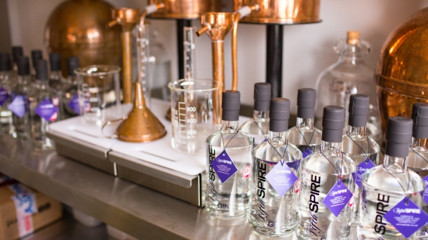 Fifth Spire is distilled using traditional Portuguese copper stills.jpg