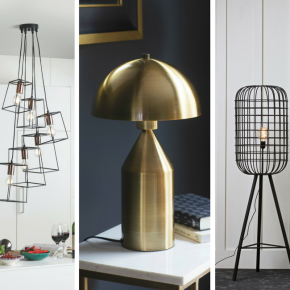 Shine bright with statement lighting for your home