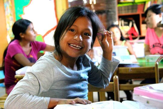 Shaherazad's latest charitable project is a skills school in Peru