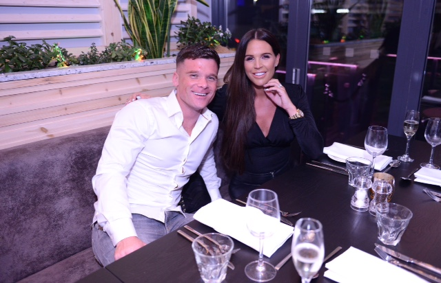 Model and TV personality Danielle Lloyd was a guest at the opening of the new FSK Steakhouse and Prosecco Bar