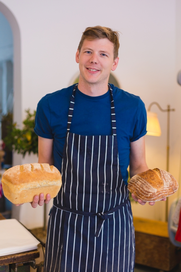 Nathan Carter runs the newly opened Bore St Bakery