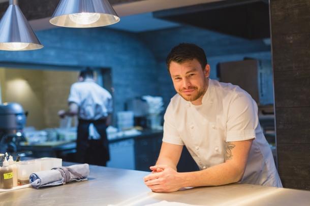 Chef patron Liam Dillon