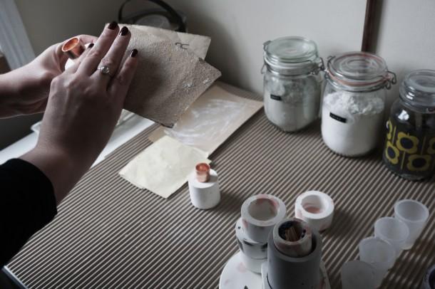 copper&solder-sanding-candleholder