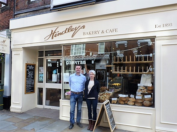 Duncan Hindley and Jackie Beaumont are the fourth generation to run the bakery