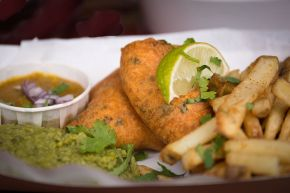 A spicy twist on foodie favourites from street food champs The English Indian
