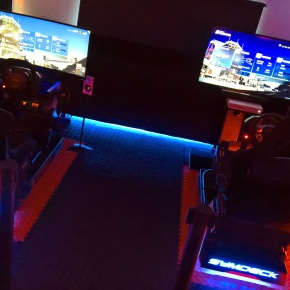Experience a Midlands innovation in motorsport gaming with Symdeck