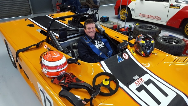 Simon Levesley at silverstone