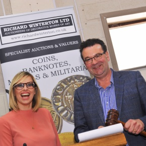 Behind the scenes at Lichfield's auction house