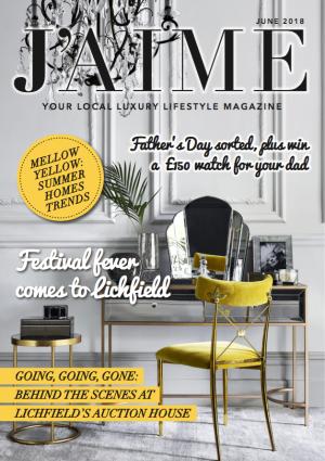 J'AIME June 2018 cover