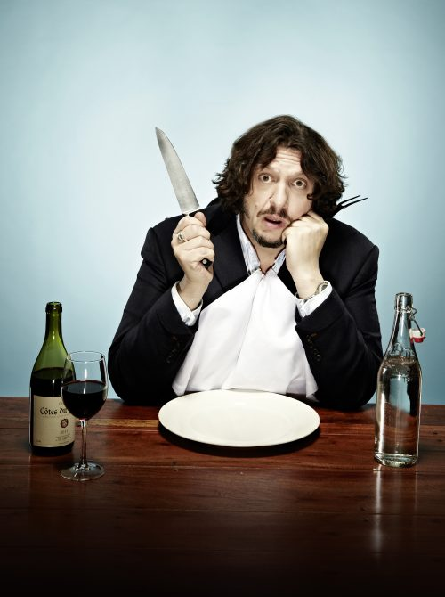 Jay Rayner brings My Dining Hell to Lichfield Garrick on July 13