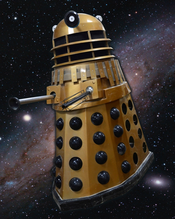 This full-sized replica Dalek was one of the most interesting recent lots