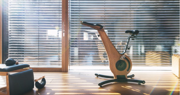 Stylish exercise equipment is a must for fitness fans